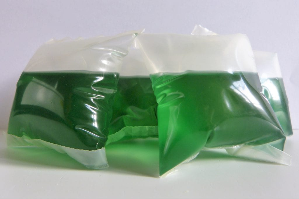 What are the benefits of biodegradable water-soluble plastic film ?